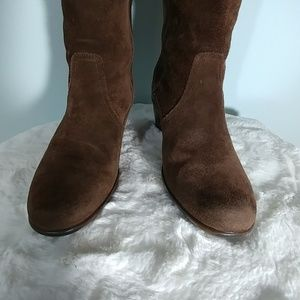 Dansko Shoes - Dansko Knee High Suede boots